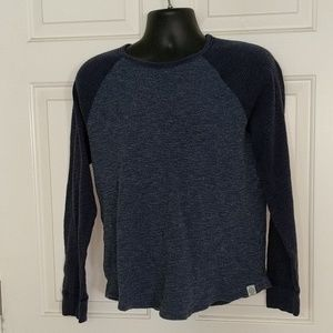 Lucky Brand Blue Thermal Shirt